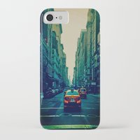 broadway iPhone & iPod Cases featuring Broadway Ave. by Wanderlust Fhotos
