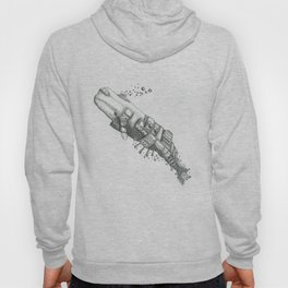The mechanical Whale Hoody