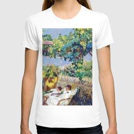 Joaquin Sorolla y Bastida - Nap in the Garden 1904 T-shirt