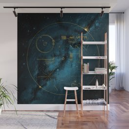 Voyager and the Golden Record - Space | Science | Sagan Wall Mural