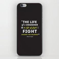 A Designers Life  iPhone & iPod Skin