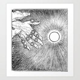 Illustrations to The Rubaiyat of Omar Khayyam First Version Quatrain Art Print