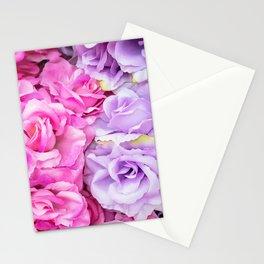 Roses violette Stationery Cards