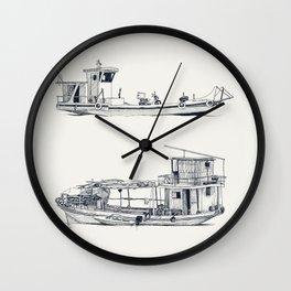 On paper: Pity Pity II y Nueva Orquidea Wall Clock