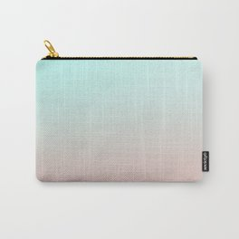Rock n Roll Pastels / Mint and Pink Carry-All Pouch