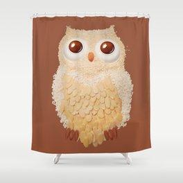 Owlmond 1 Shower Curtain