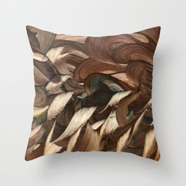 Cockatrice Throw Pillow