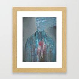 Thresholds Framed Art Print