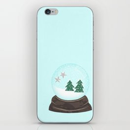Snow Globe. iPhone Skin