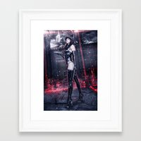 obey Framed Art Prints featuring OBEY! by Robert Palmer