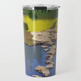 Rock Lake Travel Mug