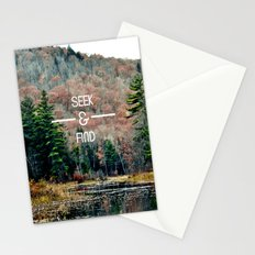 Seek & Find  Stationery Cards