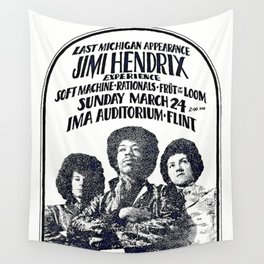 Last Michigan Appearance Wall Tapestry