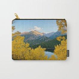 BEAR LAKE AUTUMN COLORADO ROCKY MOUNTAIN NATIONAL PARK FALL LANDSCAPE Carry-All Pouch
