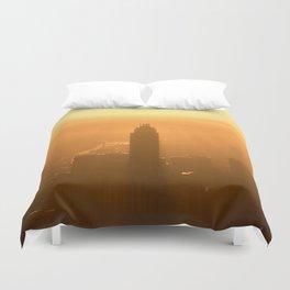 City Sunset Duvet Cover