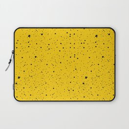 Speckled Yellow Laptop Sleeve