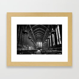 Suzzallo Library Framed Art Print