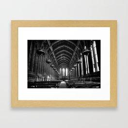 Suzzallo Library Framed Art Print