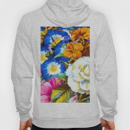 Colorful Floral Hoody
