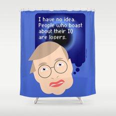 Stephen Hawking Shower Curtain