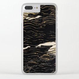 River Nymphs Clear iPhone Case