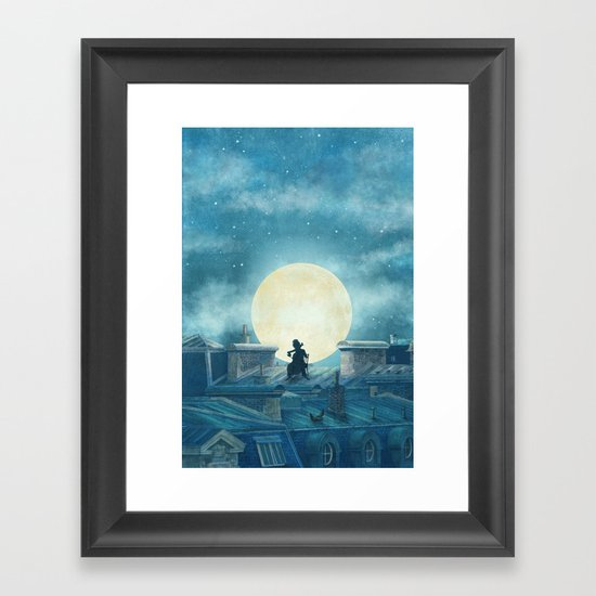 Rooftoppers Framed Art Print