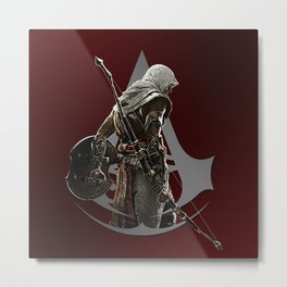 Square Bayek | Assassin's Creed Metal Print