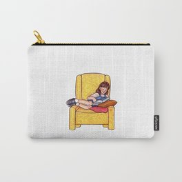 Reading fictional characters: Matilda Carry-All Pouch