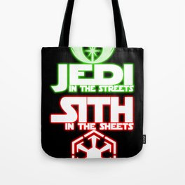 Jedi In The Streets Tote Bag