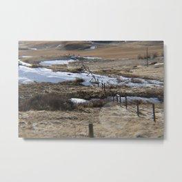 Lower River Road Metal Print