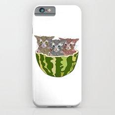 Watermelon Cats iPhone 6s Slim Case