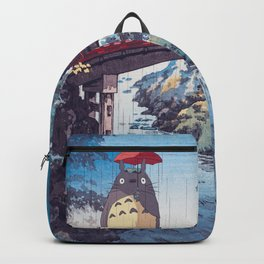 My neighbour Toto vintage japanese mashup Backpack