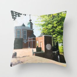 The Royal Observatory in Greenwich London Throw Pillow