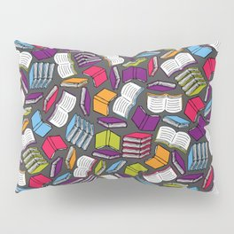 So Many Colorful Book... Pillow Sham