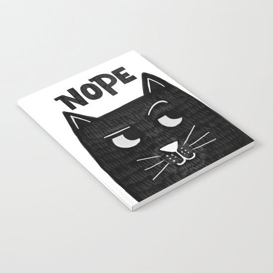 nope kitty Notebook