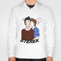 sterek Hoodies featuring Sterek #1 by liloloveyou024