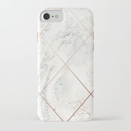 Copper & Marble 01 iPhone Case