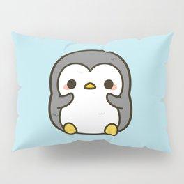 Shy penguin Pillow Sham