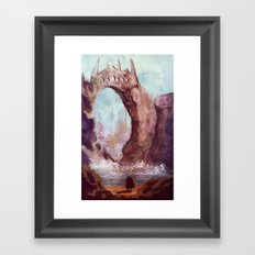 Cliffs Framed Art Print