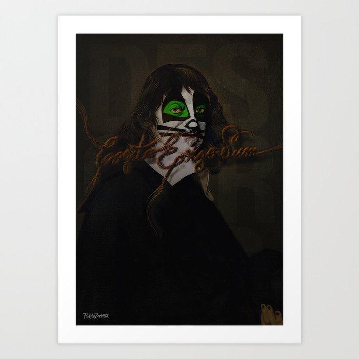 Cogito Ergo Sum Art Print