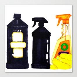 Spray n' Wash Canvas Print