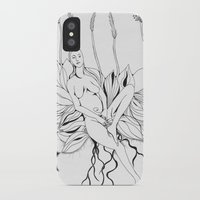 persona iPhone & iPod Cases featuring Planting Persona by tatteredjeannestune