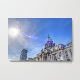 Custom House - Dublin Metal Print