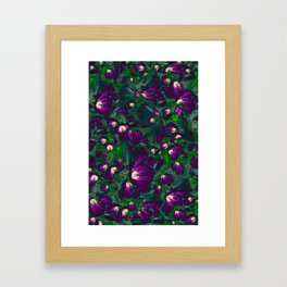 Flower carpet 2 Framed Art Print