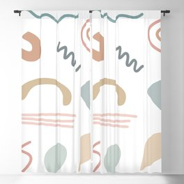 Shapes and Color 34 Blackout Curtain