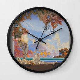 After Maxfield Parrish Wall Clock
