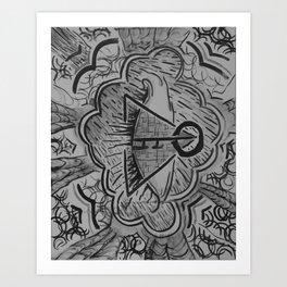 KeyRise Art Print