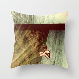 Turn Throw Pillow