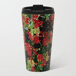Electrical floral print 1 Travel Mug