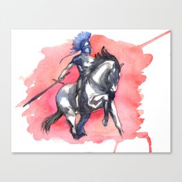 Noble Knight Canvas Print